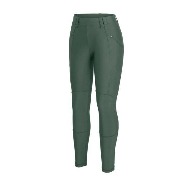 hoyden pantaloni elasticizzati donna helikon-tex olive green