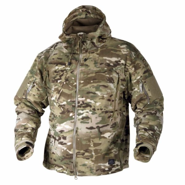 PATRIOT JACKET - DOUBLE FLEECE multifcam