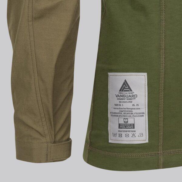 Materials Vanguard Combat Shirt
