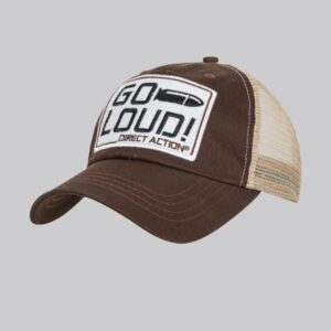 cappellino go loud direct action marrone