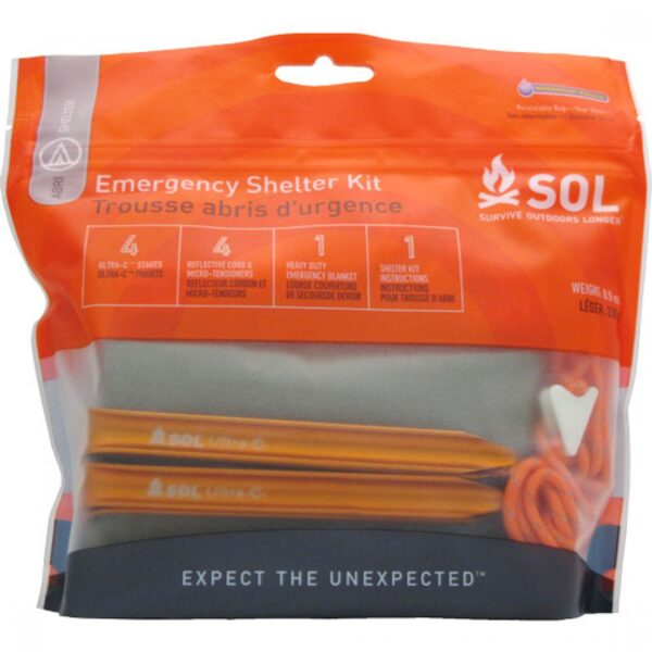 sol shelter emergency kit