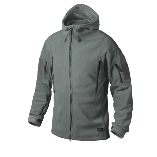PATRIOT JACKET - DOUBLE FLEECE foliage green